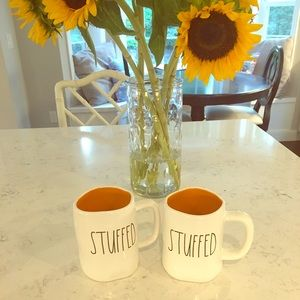 "NWT Rae Dunn ""STUFFED"" Mug Set!"